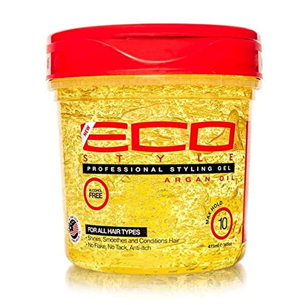 残る怪しい気付く[ECO STYLER ] エコスタイラモロッコアルガン油スタイリングゲル473ミリリットル - ECO Styler Moroccan Argan Oil Styling Gel 473ml [並行輸入品]