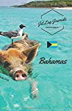 JetLagJournals • Reisetagebuch Bahamas: Erinnerungsbuch zum Ausfüllen | Reisetagebuch zum Selberschreiben für den Bahamas Urlaub