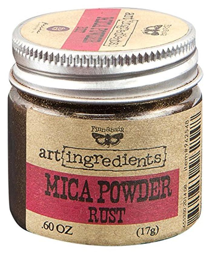 Prima Marketing Finnabair Art Ingredients Mica Powder, 0.6 oz, Rust