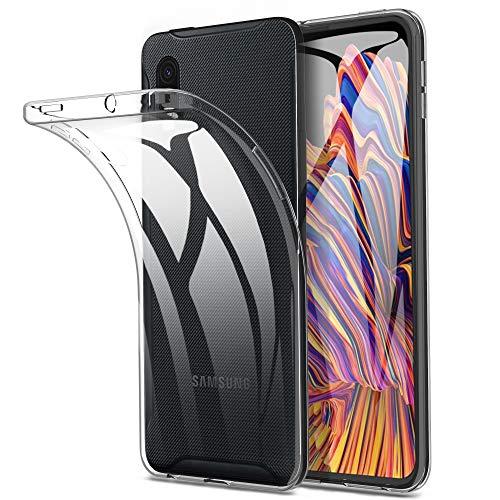 Yocktec Hülle für Samsung Galaxy Xcover Pro, Ultra-dünne weiche TPU Gel-Abdeckung Transparent Hülle [Kratzfest] [Stoßdämpfung] für Samsung Galaxy Xcover ProSmartphone[Transparent]
