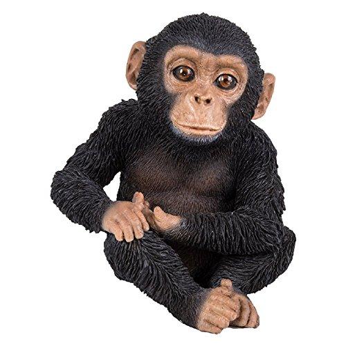Vivid Arts Baby Chimp assis pour animal de compagnie