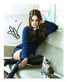 Mila Kunis Signiert Autogramme 21cm x 29.7cm Plakat Foto