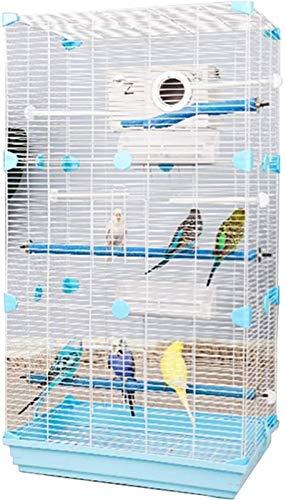 Gabbia per uccelli durevole e rispettosa dell'ambi Gabbia di volo per parrocchietti gabbie pappagallo per grandi uccelli, decorativi gabbie per uccelli home decor, giardino grande gabbia pappagallo, g
