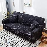 Funda de sofá elástica con Estampado de Rayas Moderno para Sala de Estar Funda Protectora elástica para Muebles A17 1 Plaza