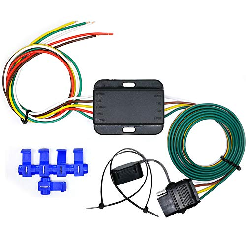 Read About CARROFIX LED Compatible Taillight Converter with 20 Inches Leads and 60 Inches 4-Wire F...