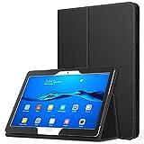 MoKo Etui Huawei MediaPad M3 Lite 10 - étui Fin et Pliable Housse Case pour Tablette Huawei MediaPad M3 Lite 10.0 Pouces, Noir (avec Automatique Réveil/Sommeil)