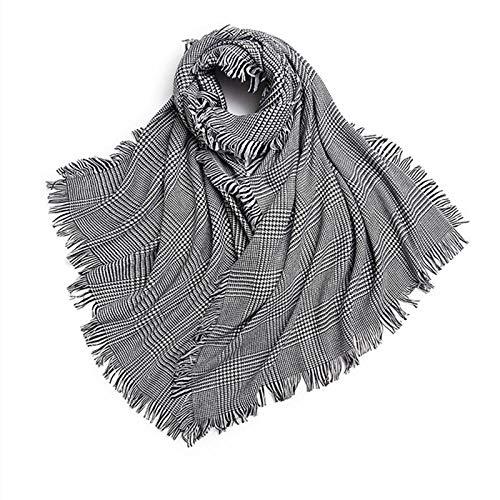 Scarf For Women100% Wool Scarf Ladies Winter Warm Shawl-02_190*80Cm