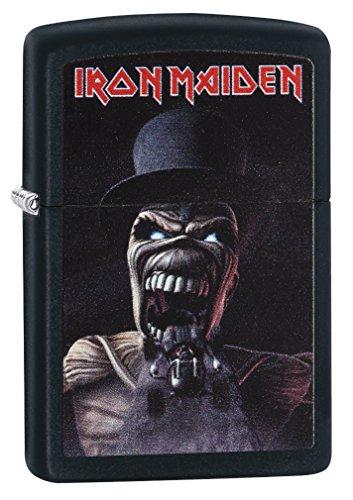 Zippo Unisex Iron Maiden Wildest Dreams Winddichtes Taschenfeuerzeug, Einheitsgröße, Schwarz/Matt