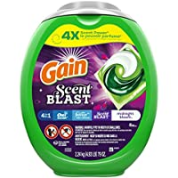 2-Pack x 48-Count Gain Flings! Scent Blast Liquid Laundry Detergent