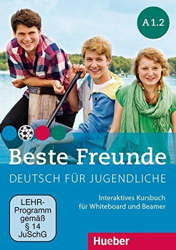 Beste Freunde A1/2: Deutsch für Jugendliche.Deutsch als Fremdsprache / Interaktives Kursbuch für Whiteboard und Beamer – DVD-ROM