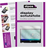 dipos I 2X Schutzfolie klar kompatibel mit Acer Spin 1 SP111-32N-P1PR Folie Bildschirmschutzfolie