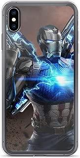 iPhone XR Pure Anti-Scratch Case Iron-Man Nanotech Armor Tony-Stark Stan Lee Avengerss Movie Shield Comic Superhero