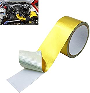 HMFC 2(in) x 16 (FT) Relfect-A-Gold Adhesive Backed Heat Barrier Tape Roll