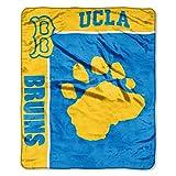 NCAA UCLA Bruins School Spirit Raschel Throw, 50 x 60-Inch