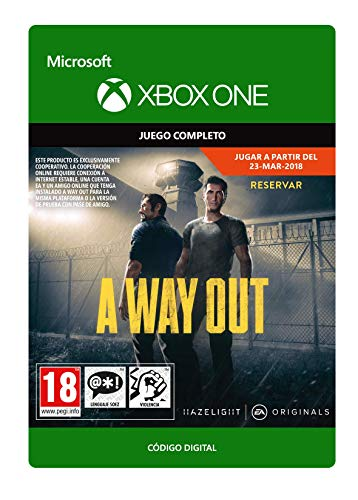 A Way Out Standard | Xbox One - Código de descarga