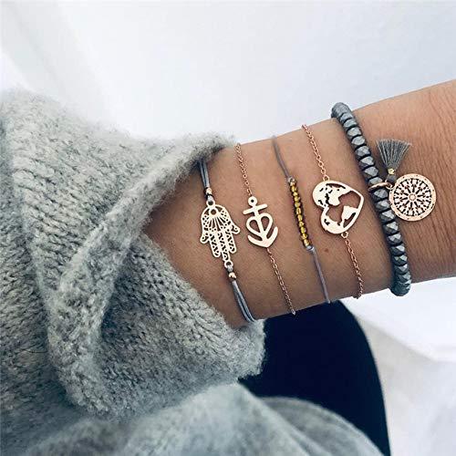DKHF Bracelet Tassel bracelet set women's beaded bracelet bracelet jewelry