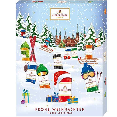 Niederegger Classics Marzipan Chocolates Advent Calendar 2019 300g