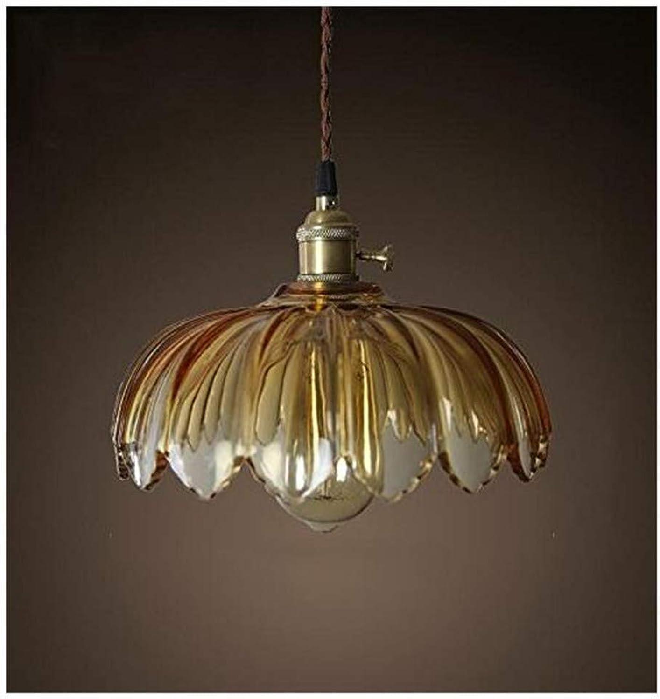 Vintage Restaurant Persnlichkeit Lotus Lampe Kopf Einzelleuchte Wohnzimmer 260  200mm, Gelb