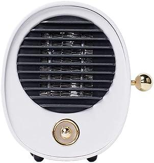 QAZWSX Calefactor De Aire Caliente Silencioso,calefactores Electricos Protección Múltiple Material Ignífugo Diseño Portátil Apto para Hogar Oficina Cuarto Etc