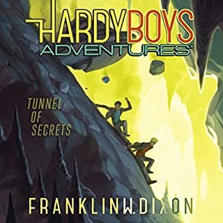 Tunnel of Secrets audiobook cover art