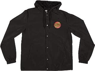 Santa Cruz Men's Japanese Dot Hooded Windbreaker Jackets