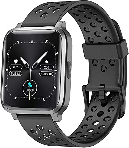 ASWEE Smart Watch for Women Men, Fitness Trackers with Blood Oxygen, Heart...