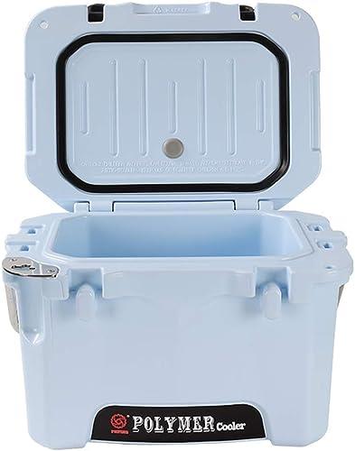 XHX Glacière, glacière personnelle portable écoénergétique, lait, médicaments, cuisines ou casseroles extérieures 10L,Bleu clair