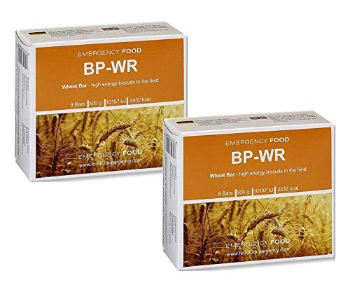 Compact - BP WR Emergency Food 500 Gramm Langzeitnahrung für Outdoor, Camping und in Krisensituationen (2 Stück)