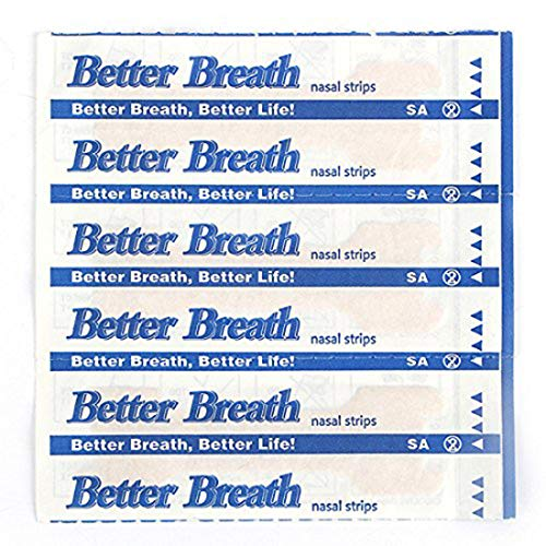 50 Count Nasal Strips Better Breath Anti Snoring (66mm*19mm)