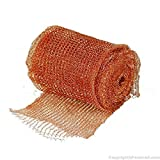 Stuff-fit - DS8044 Copper Mesh for Mouse Rat Rodent Control as Well as Bat Snell Control 30 Foot...