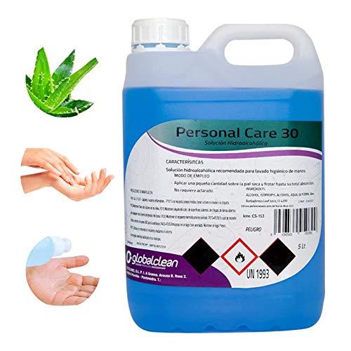Garrafa 5 Litros Loción Hidroalcohólica manos 70% Alcohol Garantizado FORMATO AHORRO 5000ml Ideal Pulverizadores