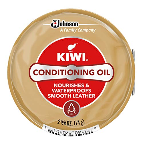 KIWI Shoe Conditioning Oil | Leather Care for Shoes, Boots, Furniture, Jacket, Briefcase and More | 2 5/8 Oz