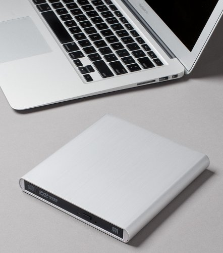 Archgon Aluminum External USB DVD+Rw,-RW Super Drive for Apple-MacBook Air, Pro, iMac, Mini