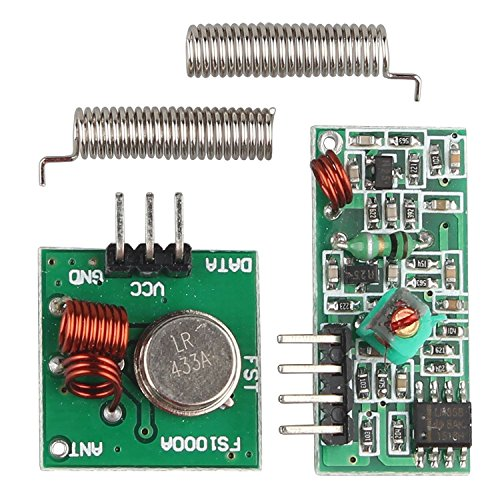 5Pcs 433 MHz RF Transmitter Receiver Module Wireless Link Kit set for Arduino Raspberry Pi