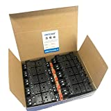 リレー用ソケット(8ピン) PYFZ-08-E、PYF08A-E相当品 適合リレーMY2、MY2N、CKE-2CS 1箱10個入り 1個あたり¥250