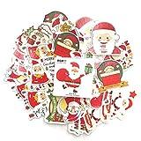 SUNYU Pegatinas de Navidad Planificador Decoración DIY Scrapbooking Lindo Etiqueta de Palo Etiqueta de Diario Papelería Kawaii 45 Unids/Set