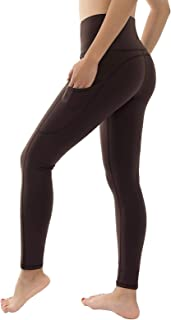 High Waist Yoga Leggings with 3 Pockets,Tummy Control Workout Running 4 Way Stretch Yoga Pants