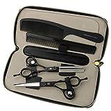 YHtech 6 Pulgadas Tijeras de peluquería Peluquería Profesional de Acero Inoxidable Tijeras de reducción Set (Conjunto)
