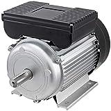 VEVOR Motor Eléctrico para Compresor Aire 230-240 V Monofásico, Compresor Silencioso 2,2 kW, Mini Compresor de Aire 3 HP, Chasis de Aluminio, Motor Eléctrico Corriente Alterna Diámetro del Eje 24 mm