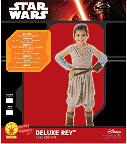 Star Wars - Disfraz de Rey, Episode 7, Deluxe, para niños (Rubie'S 620263-M)