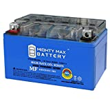 Mighty Max Battery YTX7A-BS Gel Battery for Gas Gy6 Scooter Moped 50CC 125CC Brand Product