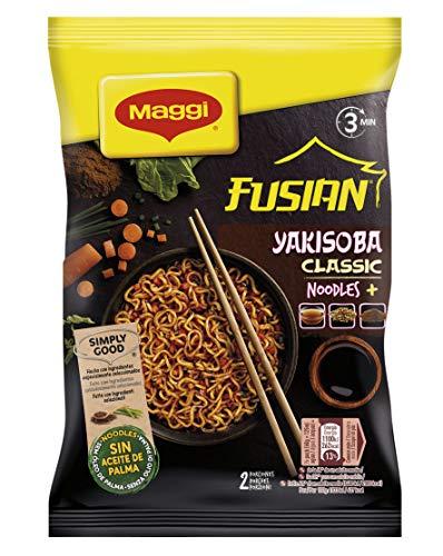Maggi - Fideos Yakisoba Classic 120 g - [pack de 4]