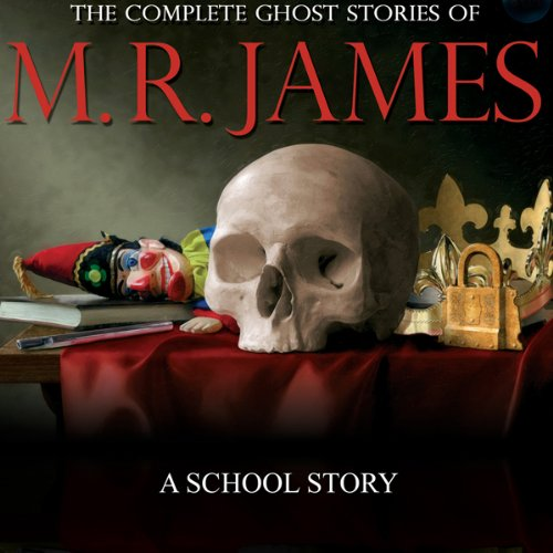 A School Story audiobook cover art