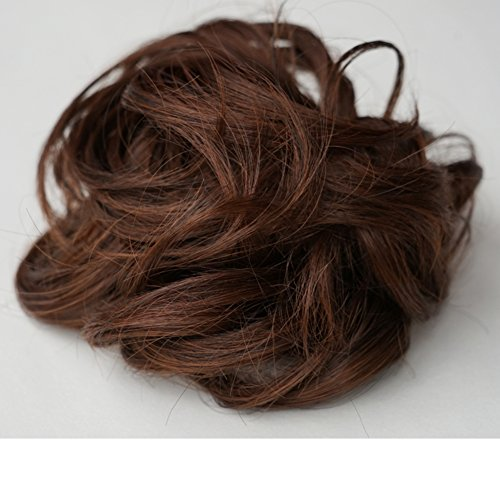 Perruque Lady Fil de haute température Afro Volutes bandeau de Lady boules -C