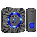 Best Wireless Doorbells - Wireless Doorbell, AIMASON 1300ft Operating Range Door Bells Review
