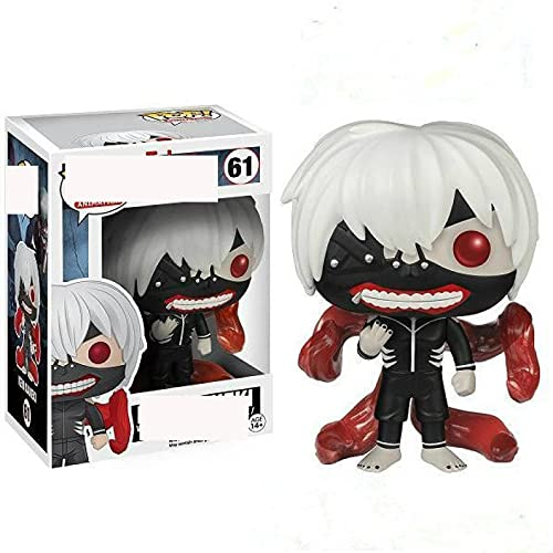 Pop Figures Anime Tokyo Ghoul Ken Kaneki 61# Action Figure Toys Collection Model Toy For Children with Box 10Cm