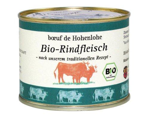 Bäuerliche Erzeugergemeinschaft Schwäbisch Hall Bio Rindfleisch im eigenen Saft, 200 g