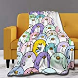 MYSTCOVER Penguin Small Blanket 40'x50' Comfortable Winter Blanket and Perfect Soft Autumn Blanket | Machine Washable
