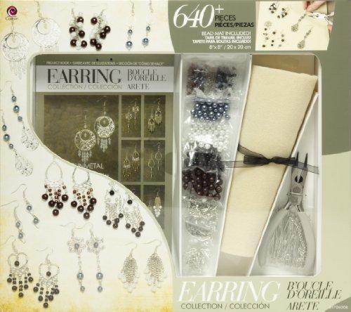 Bijoux Basics Classe dans Une Boîte Ton Kit-Silver Earrings