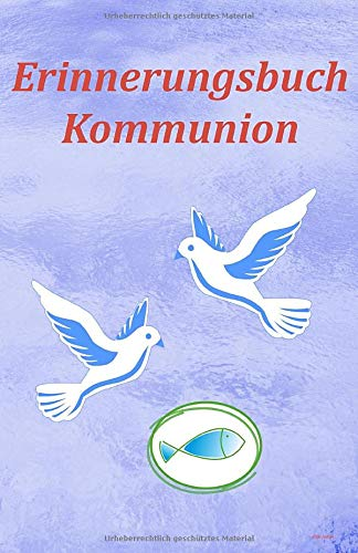 Erinnerungsbuch Kommunion: Kommunionalbum Mädchen, Kommunionsgeschenk Mädchen, Erstkommunion Album